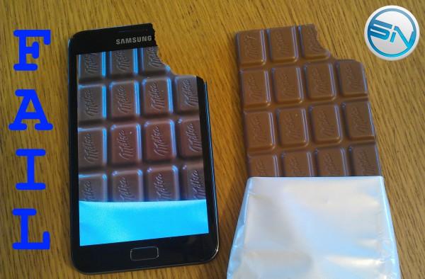 Samsung Galaxy Note - Display Fail