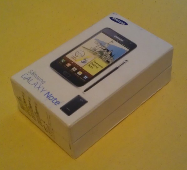 Samsung Galaxy Note N7000 - Unboxing