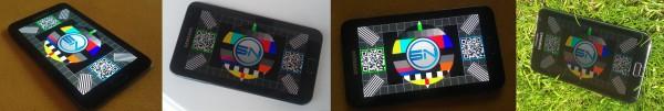 Samsung Galaxy Note Display Test