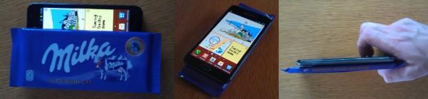 Samsung Galaxy Note Größenvergleich
