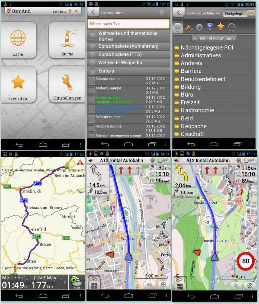 Osmand+, Navigation, kostenlos - smartcamnews.eu