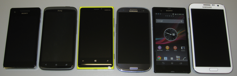 Sony Xperia Z - der Größen Vergleich - smartcamnews.eu