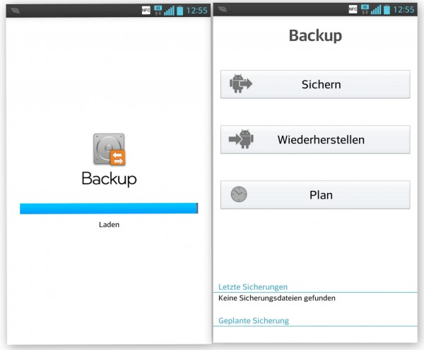 LG Optimus G - Backup Funktion - smartcamnews.eu