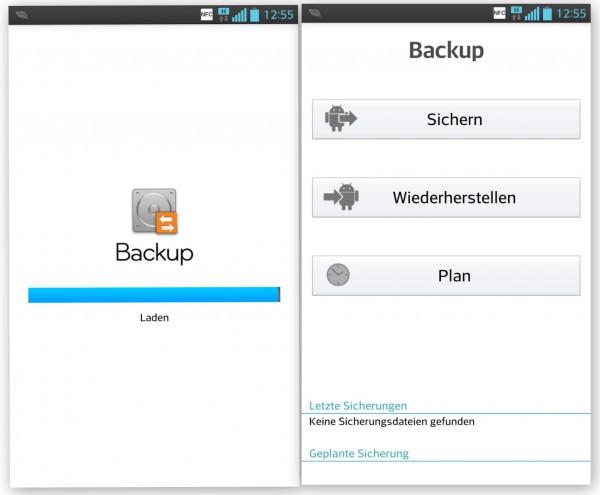 LG Optimus G - Backup Funktion - smartcamnews.eu
