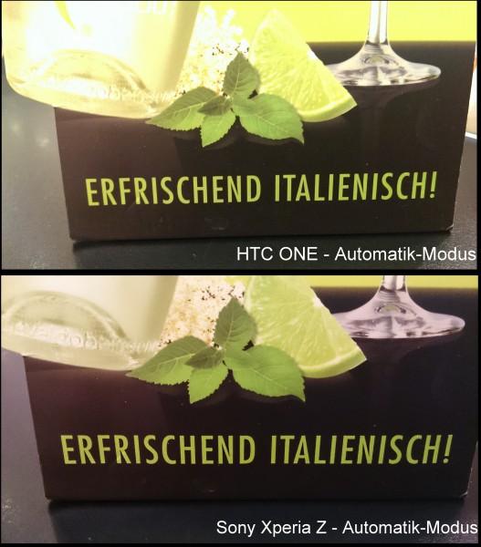 HTC One vs. Xperia Z - Kamera - smartcamnews.eu