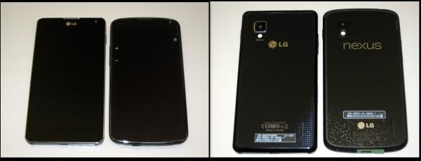 LG Optimus g vs. LG Nexus 4 - smartcamnews.eu