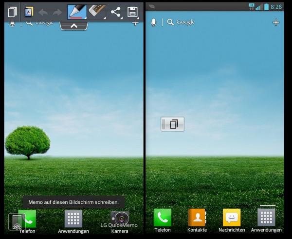 LG Optimus G - Notizfunktion - smartcamnews.eu