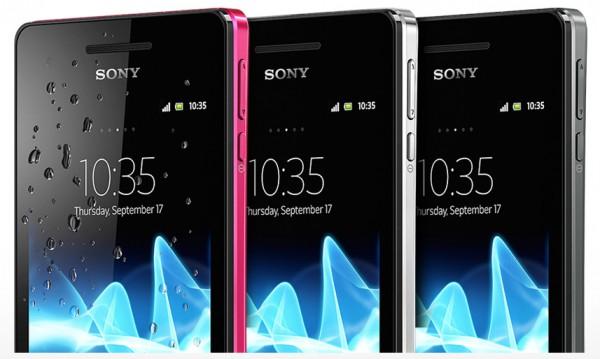 Sony Xperia V - Design - smartcamnews.eu