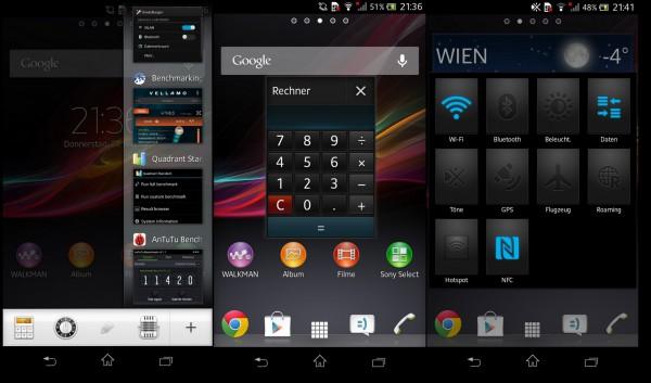 Sony Xperia V - MiniApps - smartcamnews.eu