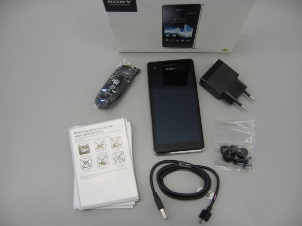 Sony Xperia V - Unboxing - smartcamnews.eu
