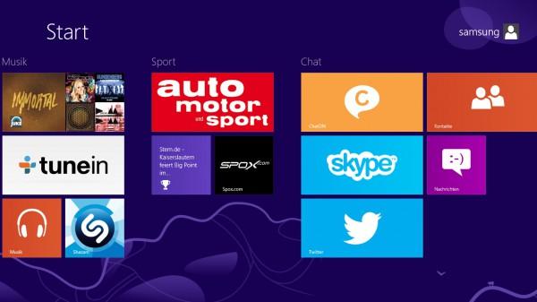 Windows 8 Oberfläche - smartcamnews.eu