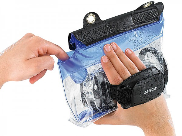 Unterwassertasche - Somikon Video Kamera DV-920 HD - smartcamnews.eu
