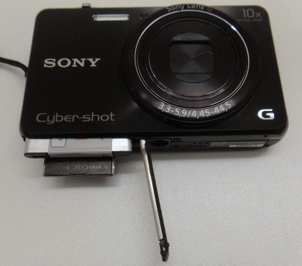 Sony WX 200 - Akku, Speicherkarte, Stativgewinde - smartcamnews.eu