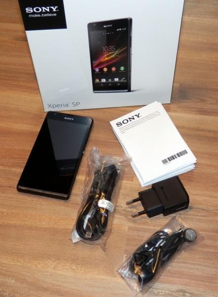 Unboxing - Sony Xperia SP - smartcamnews.eu