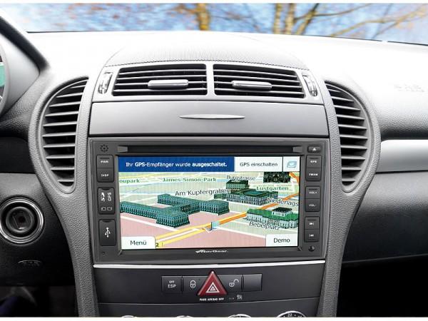 Einbau im Auto (Beispiel) - NavGear-StreetMate-2-DIN-Autoradio-mit-6-Zoll-Navi-DSR-N-62-Europa