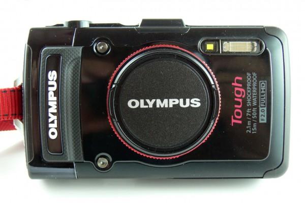 Olympus TG-2 - Outdoor Kamera - mit Objektiv Adapterring - CLA-T01