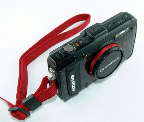 Olympus TG-2 - Outdoor Kamera - von oben