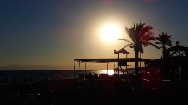 Olympus TG-2 - Sonnenuntergang am Strand