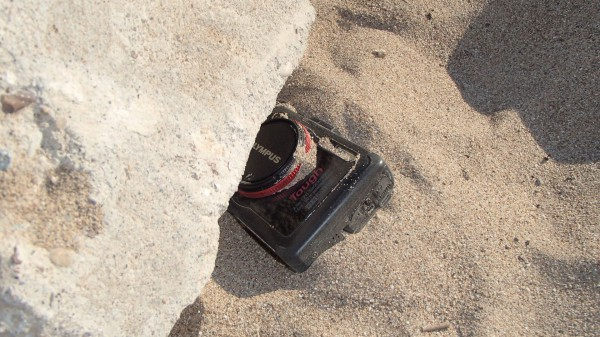 Olympus TG-2 - hart im nehmen unterm Stein