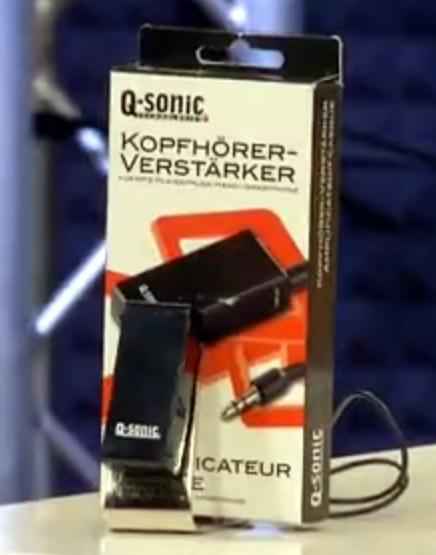 Q-Sonic Klinken AUX Verstärker