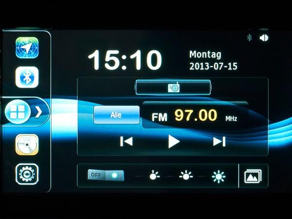 Radio-Ansicht - NavGear StreetMate  DSR-N-62 - Europa