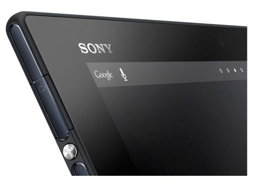 Sony Xperia Z Tablet - Seitliche Ansicht