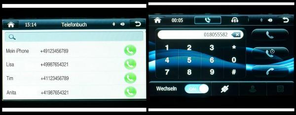 Telefonfunktion - NavGear StreetMate - Navi-DSR-N-62