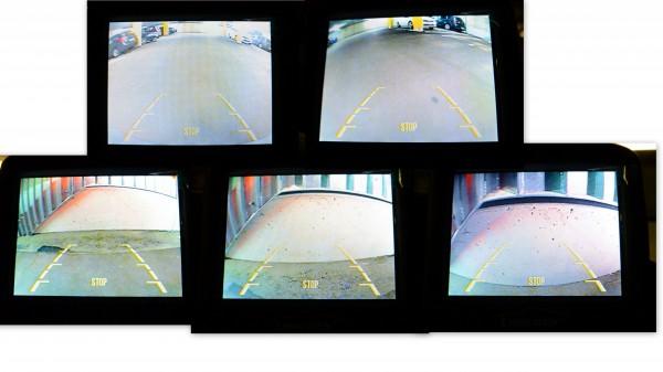 Einparkhilfe Ansicht - PA-500N - mit Kamera & LCD Monitor