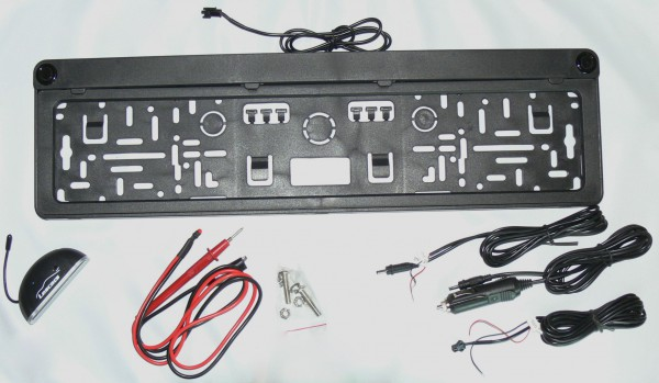 Unboxing Set - Einparkhilfe - PA-520F - mit Sensoren