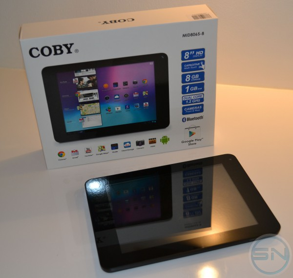 Coby Kyros MID8065 - Unboxing Tablet - smartcamnews