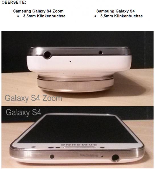 Klinken Anschluss - Galaxy - smartcamnews.eu