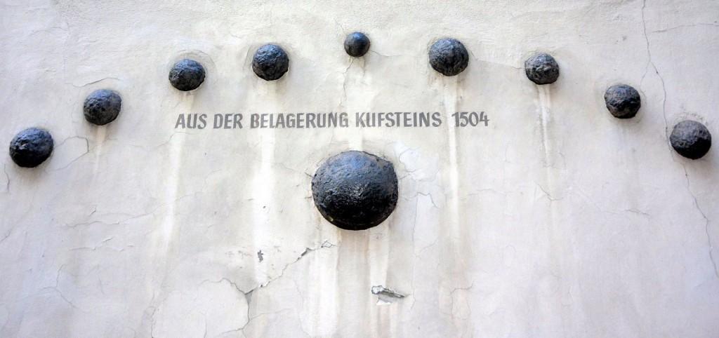 Kanonenkugeln 1504 - Kufstein Belagerung - Nikon 1 V2