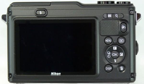 Nikon 1 AW1 - Display und Bedienung - smartcamnews.eu