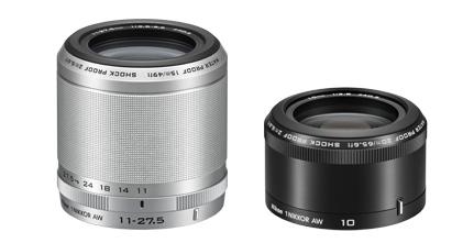 Nikon 1 AW1 - Nikkor UW-Objektive - smartcamnews.eu