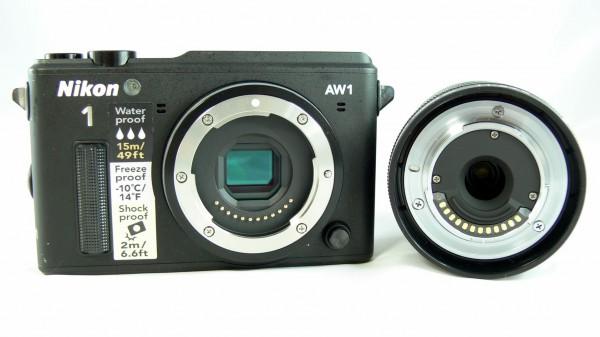 Nikon 1 AW1 - Objektiv Bajonett - smartcamnews