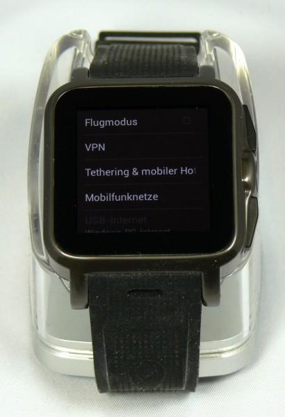 Hotspot Funktion - Smartwatch AW414go - smartcamnews.eu