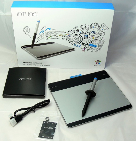 Unboxing - Intuos Pen-Small Tablet - smartcamnews.eu