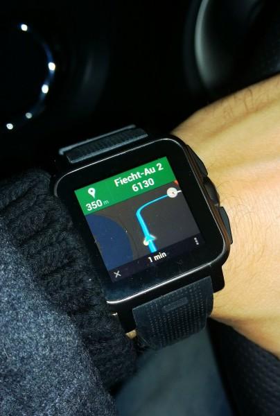 Live Navigation - Smartwatch AW414go - smartcamnews.eu