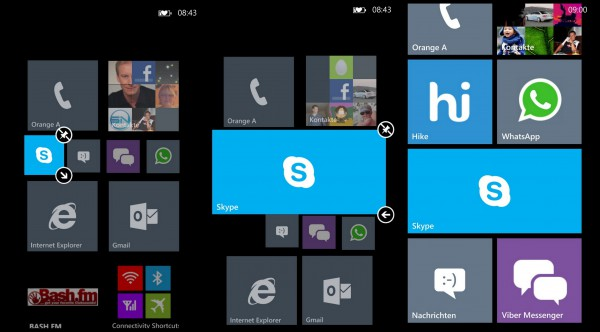 Homescreen - Nokia Lumia 1020 - smartcamnews.eu