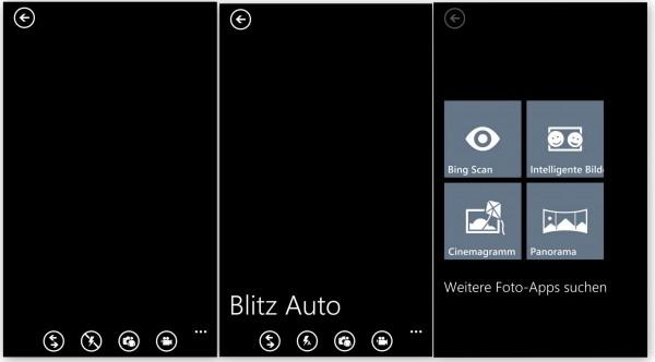 Kamera-Menü - Nokia Lumia 1020 - smartcamnews.eu