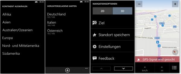 Navi Menü - Nokia Lumia 1020 - smartcamnews.eu