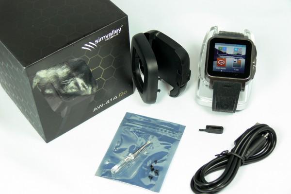 Unboxing - Smartwatch AW414go - smartcamnews.eu