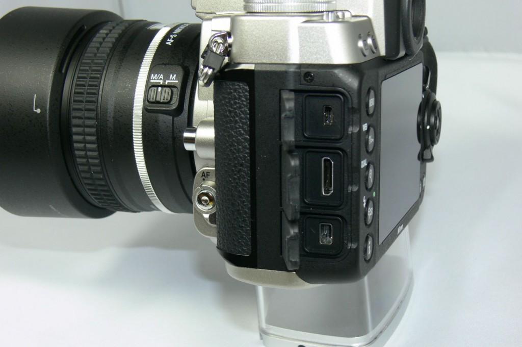 Anschlüsse - Nikon Df - smartcamnews.eu