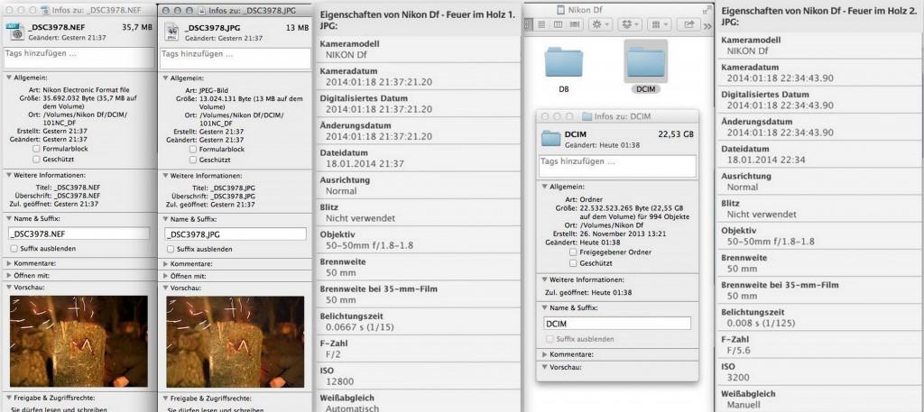 Metadaten - Nikon Df - smartcamnews.eu