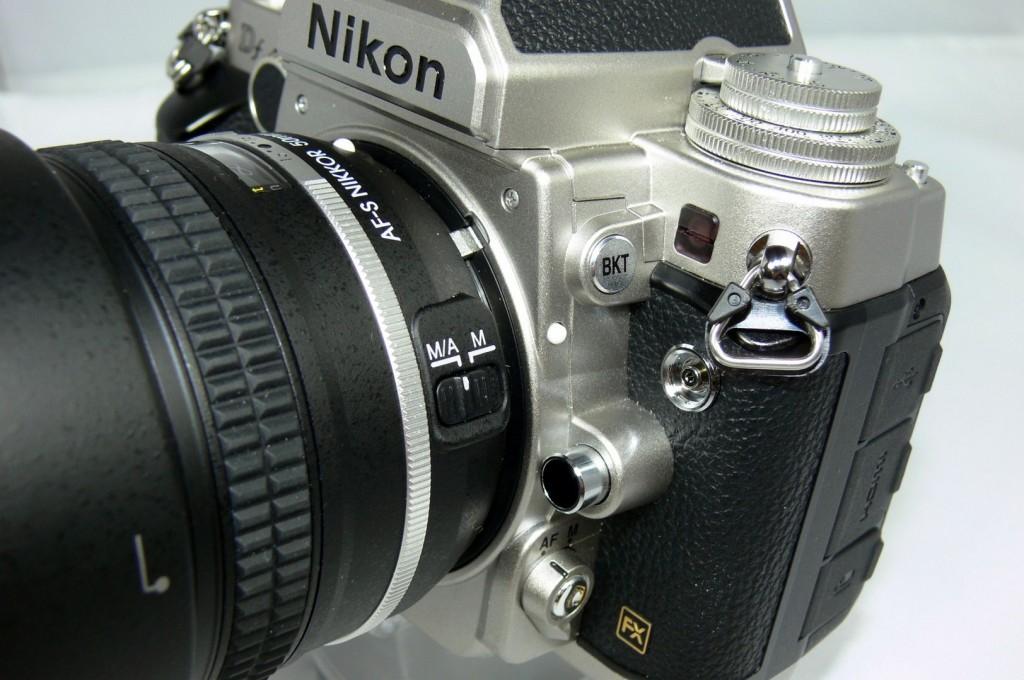 Objektivanschluss - Nikon Df - smartcamnews.eu