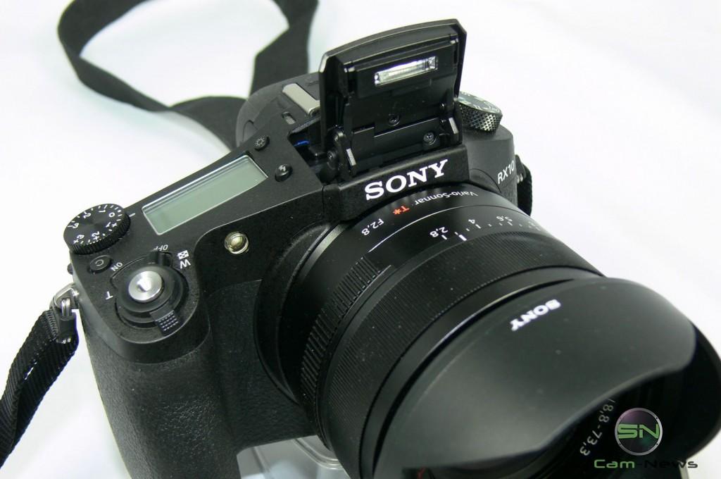 Klappblitz - Sony RX10 - smartcamnews.eu