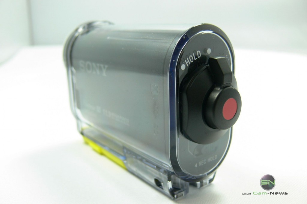 Aufnahmetaste - Sony HDR AS30V - SmartCamNews