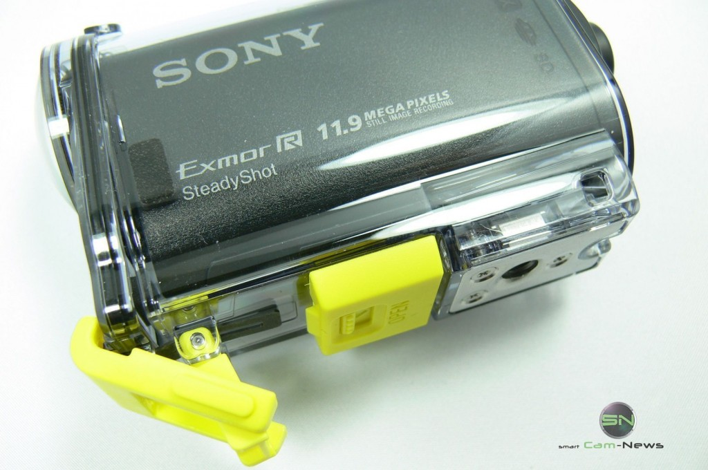 Doppel Klick Verschluss - Sony HDR AS30V - SmartCamNews