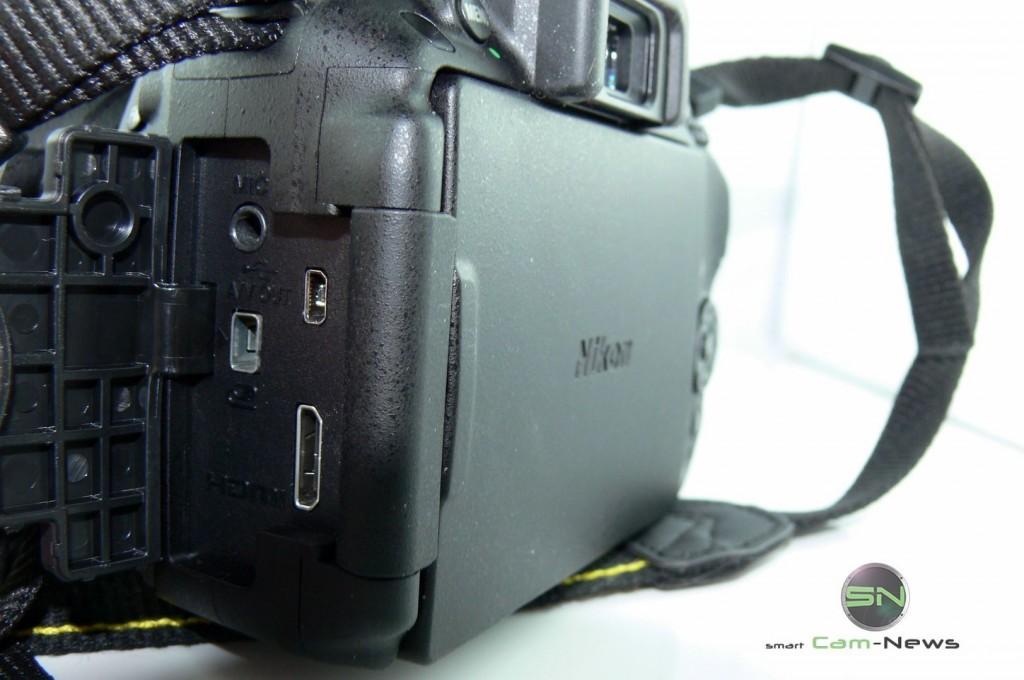 Nikon D5300 - Anschlüsse - SmartCamNews