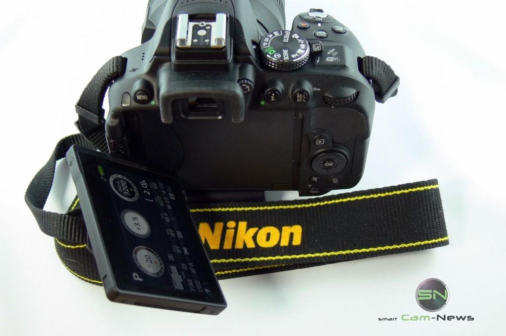 Nikon D5300 - Klappdisplay - SmartCamNews